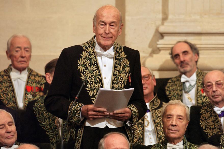 Valéry Giscard d'Estaing, le 14 décembre 2004