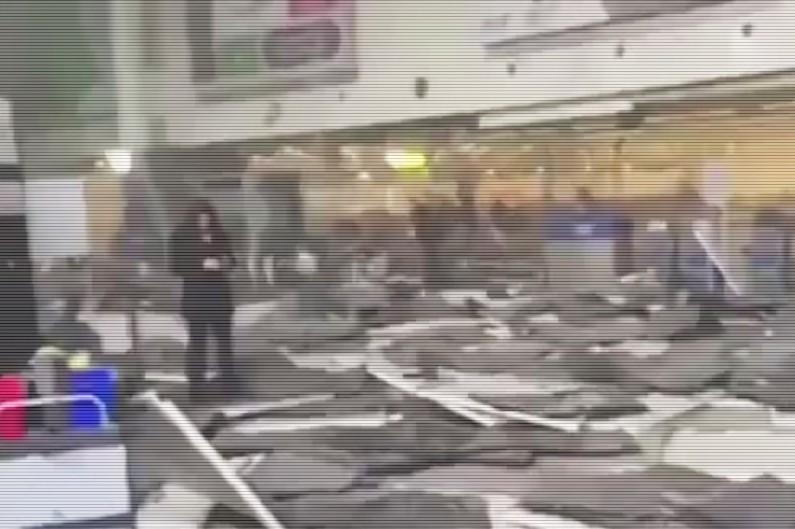 Intérieur de l'aéroport de Bruxelles