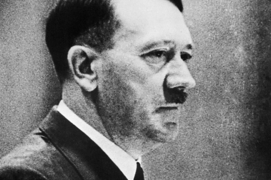 Portrait d'Adolf Hitler datant du 20 avril 1942.