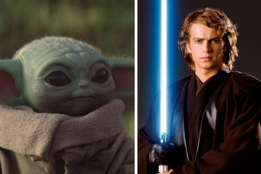 """Anakin Skywalker peut-il être lié à """"Baby Yoda"""" dans """"Star Wars"""" ?"""