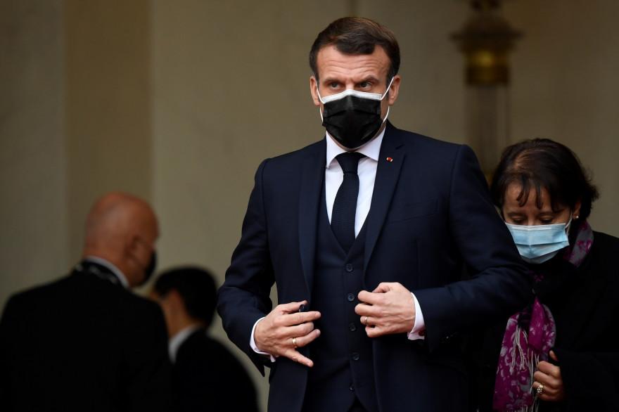 Emmanuel Macron, le 7 décembre 2020