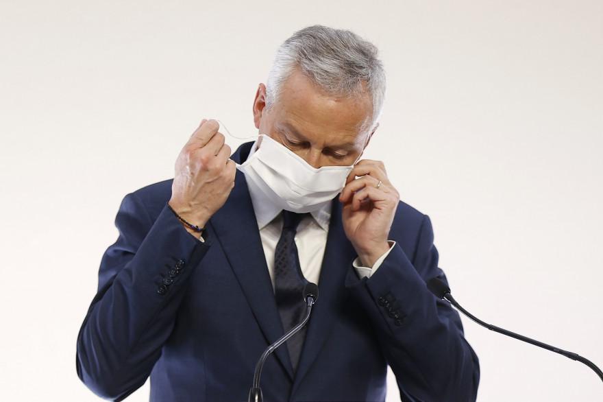 Bruno Le Maire, ministre de l'Économie, le 29 octobre 2020 à Paris