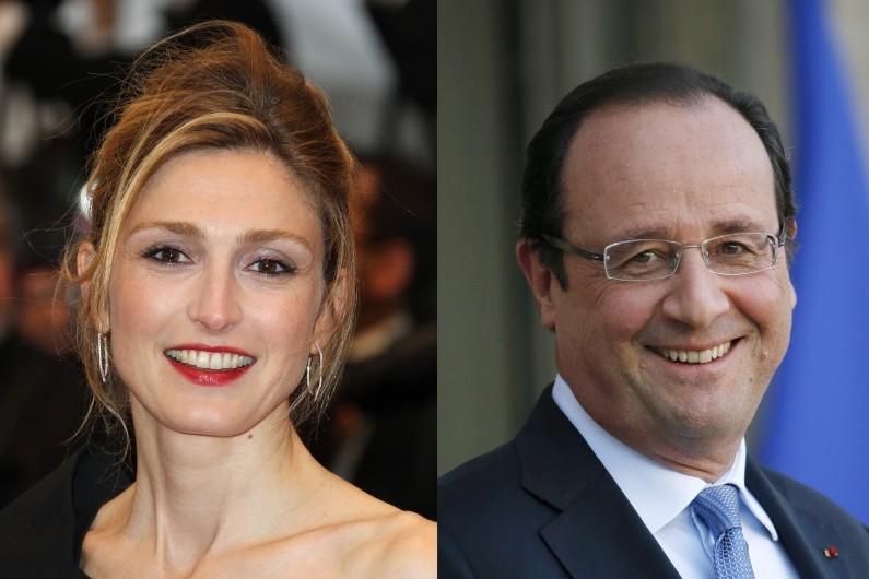 La relation entre François Hollande et Julie Gayet  nécessite que l'actrice fasse l'objet d'un dispositif de protection policière