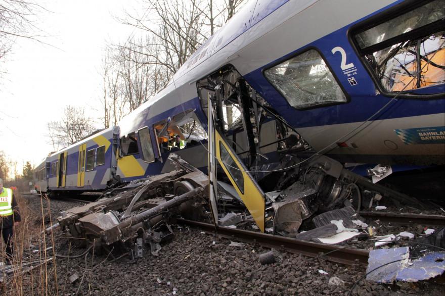L'ccident de train en Allemagne avait fait 11 morts le 9 février 2016.