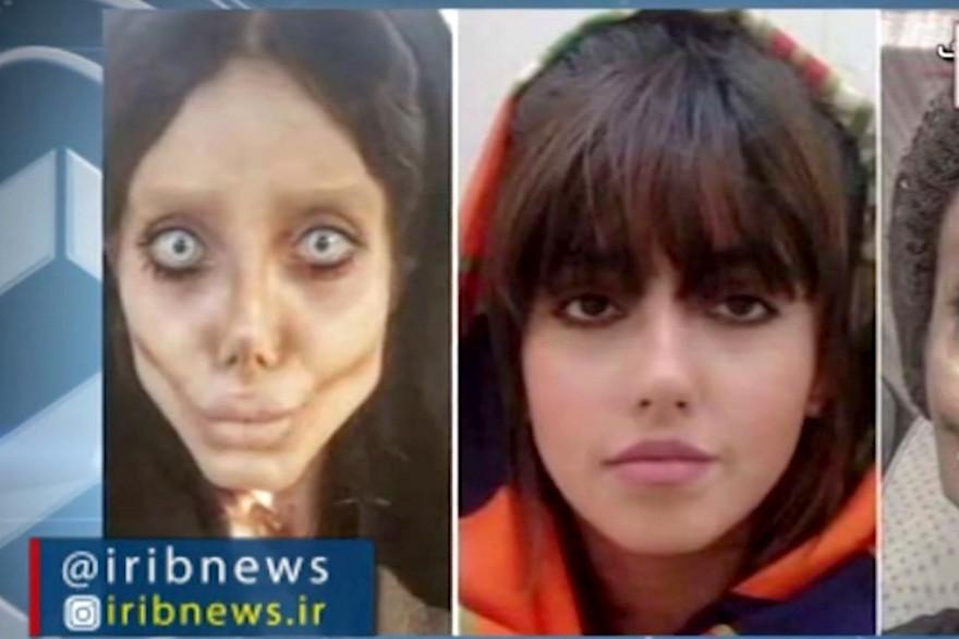 La télévision d'État iranienne IRIB a diffusé le 24 octobre 2019 les photos publiées par l'instagrameuse iranienne Sahar Tabar avant et après sa transformation.