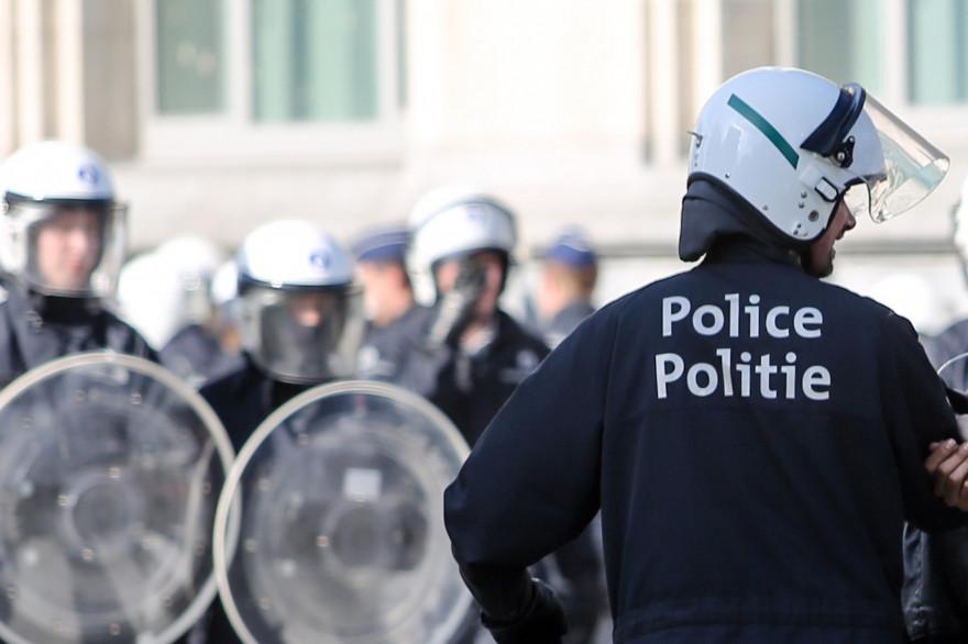Des policiers belges (illustration)