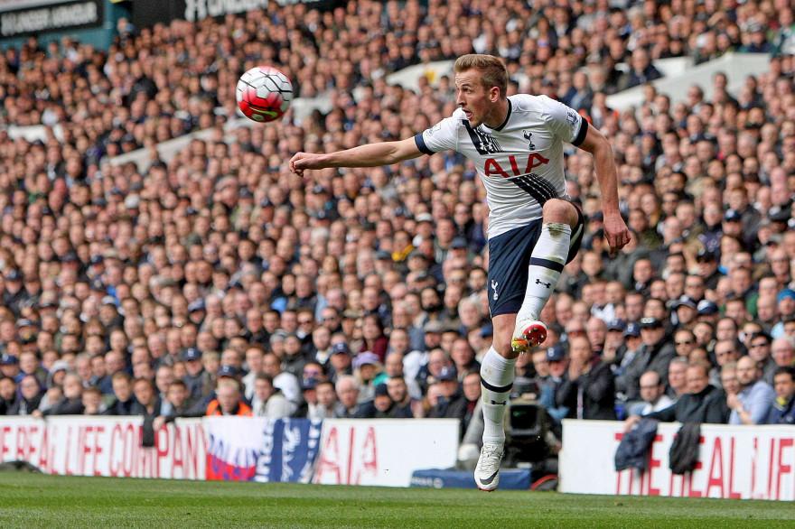 Harry Kane sous les couleurs de Tottenham le 10 avril 2016