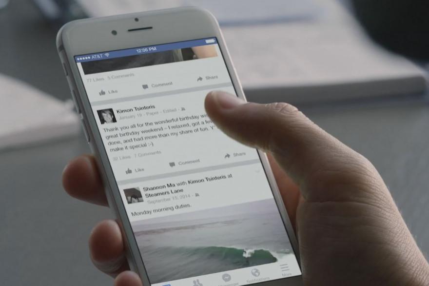 Facebook envisage une nouvelle refonte de son fil d'actualité