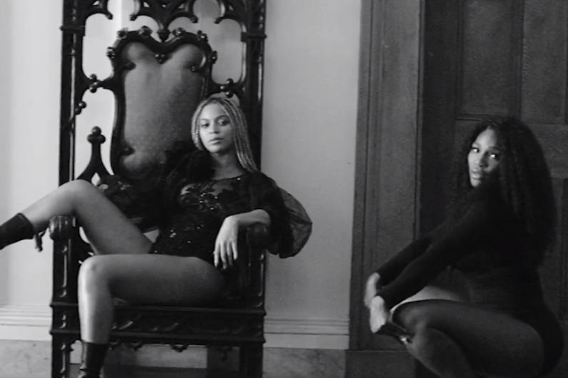 """Beyoncé aux côtés de Serena Williams dans """"Lemonade"""""""