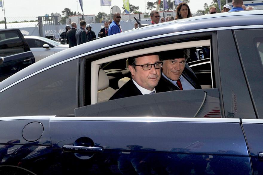 François Hollande et Stéphane Le Foll, le 13 juin 2015