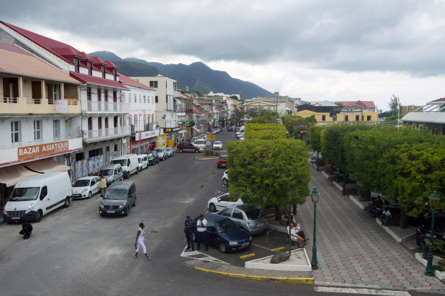La ville de Basse-Terre, capitale de Guadeloupe, le 19 avril 2016
