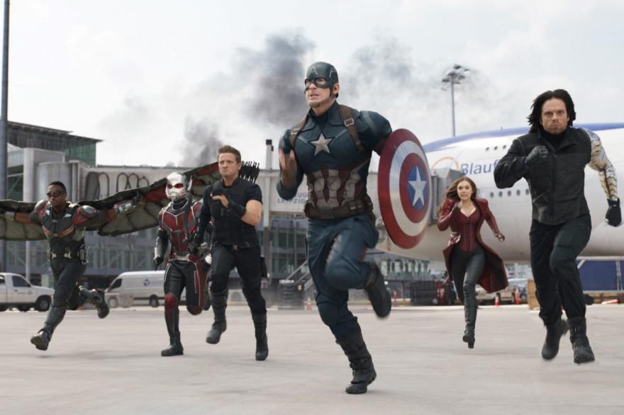 L'équipe de Captain America affronte celle d'Iron Man