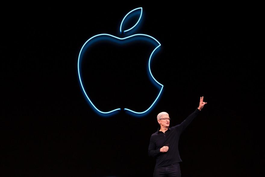 Tim Cook, PDG d'Apple, le 3 juin 2019