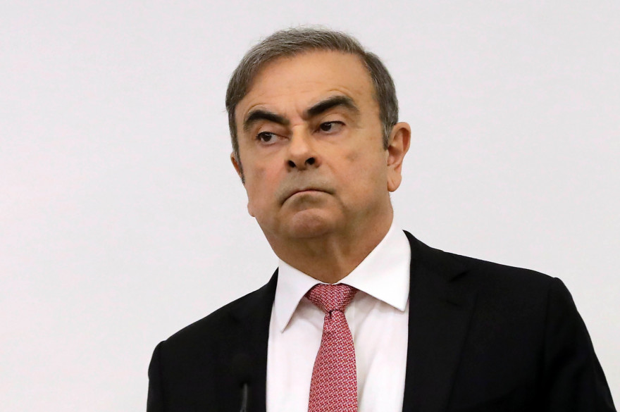 Carlos Ghosn, le 8 janvier 2020 à Beyrouth