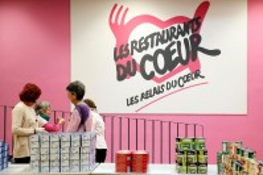 Un centre de distribution des Restos du coeur (archive).