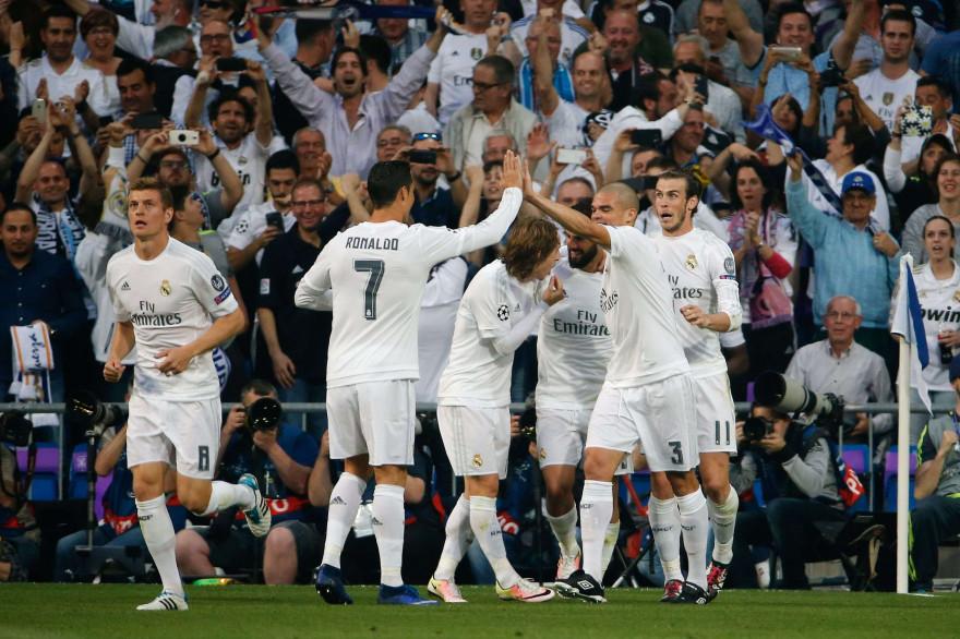 Le Ral Madrid est en finale de la Ligue des champions pour la 14e fois de son histoire (10 victoires)