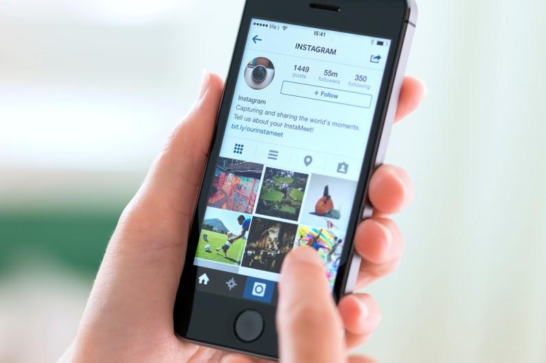 L'application de partage de photos, Instagram