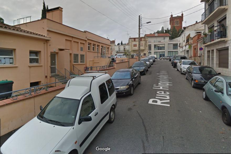Rue Hippolyte-Taine à Perpignan