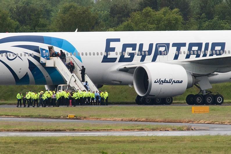 Un vol de la compagnie EgyptAir reliant Paris au Caire a disparu dans la nuit du 18 au 19 mai (image d'illustration)