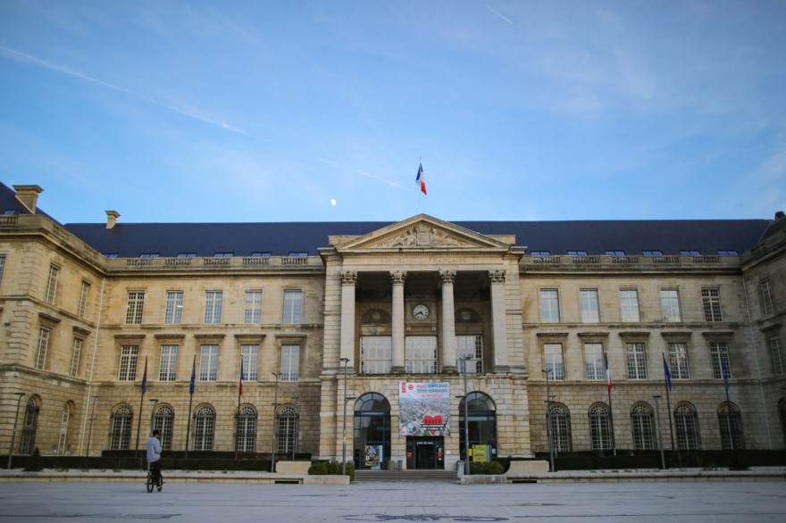 La mairie de Rouen en Seine-Maritime (illustration)