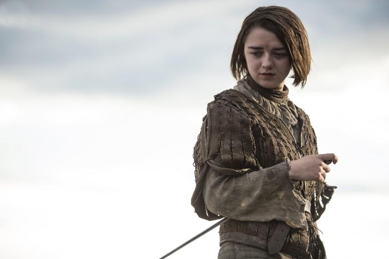"""Maisie Williams alias Arya Stark de """"Game of Thrones"""""""