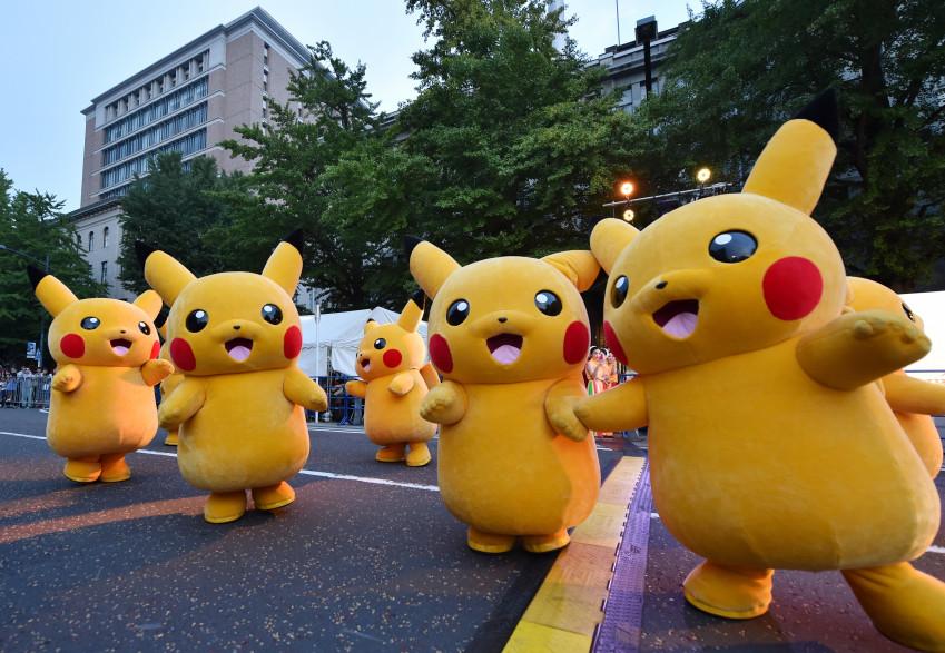 Pikachu était un des personnages phare de la saga Pikachu