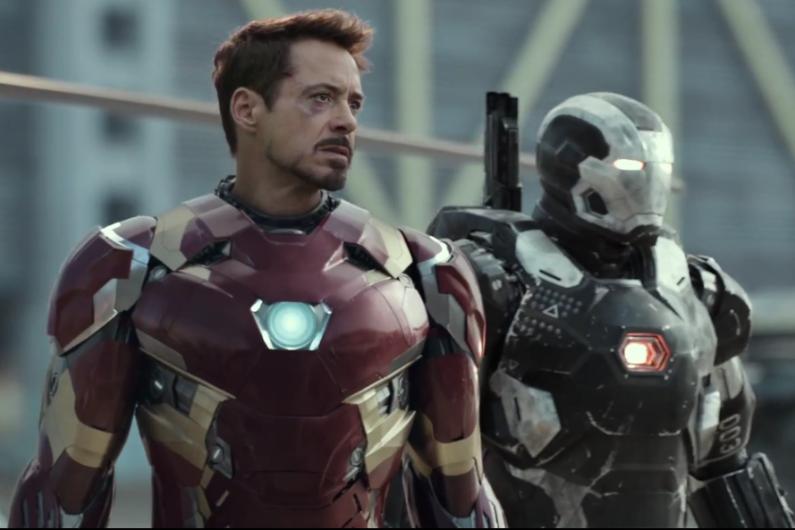 Iron Man et War Machine pour la première fois à l'écran.