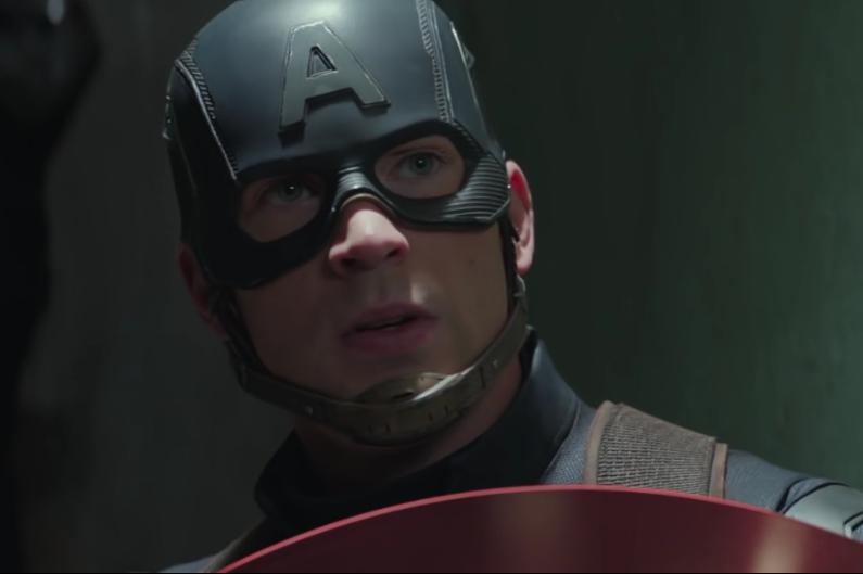 Captain America avant son face à face avec Iron Man.