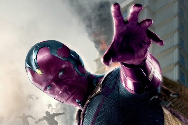 """Vision, un personnage de """"Captain America : Civil War"""""""