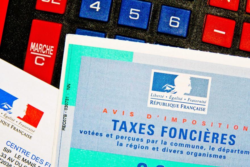 La taxe foncière (illustration)