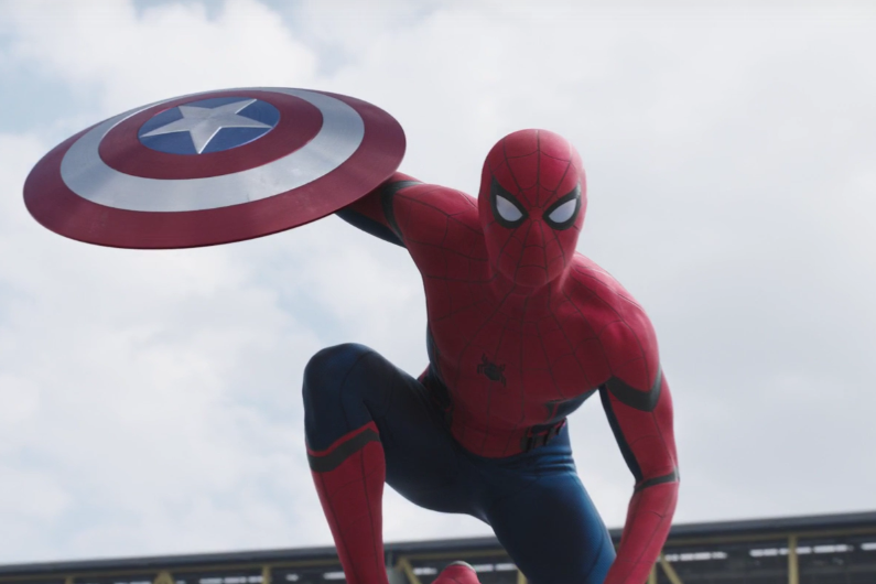 """L'apparition de Spider-Man apporte de la fraîcheur """"Captain America : Civil War"""""""