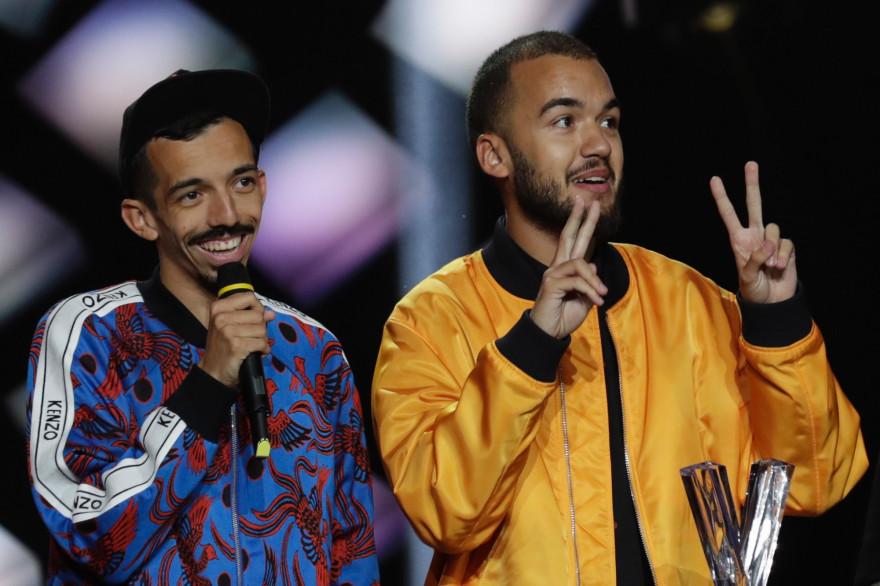 Bigflo & Oli lors des victoires de la Musique en 2019