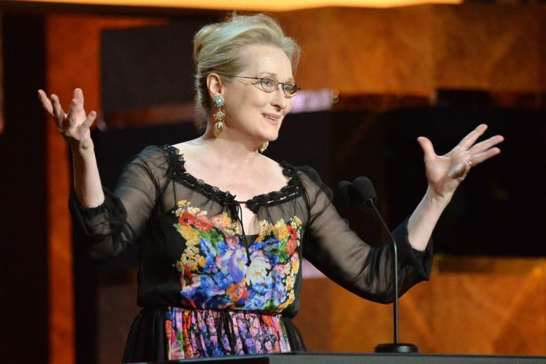 L'actrice américaine Meryl Streep