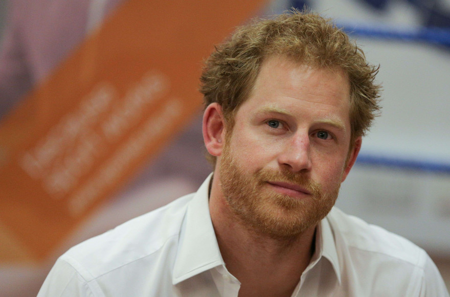 Le prince Harry à Londres en juin 2016