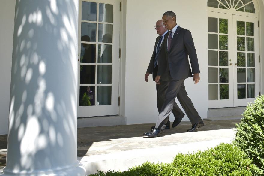 Bernie Sanders convoqué à la Maison Blanche par Obama
