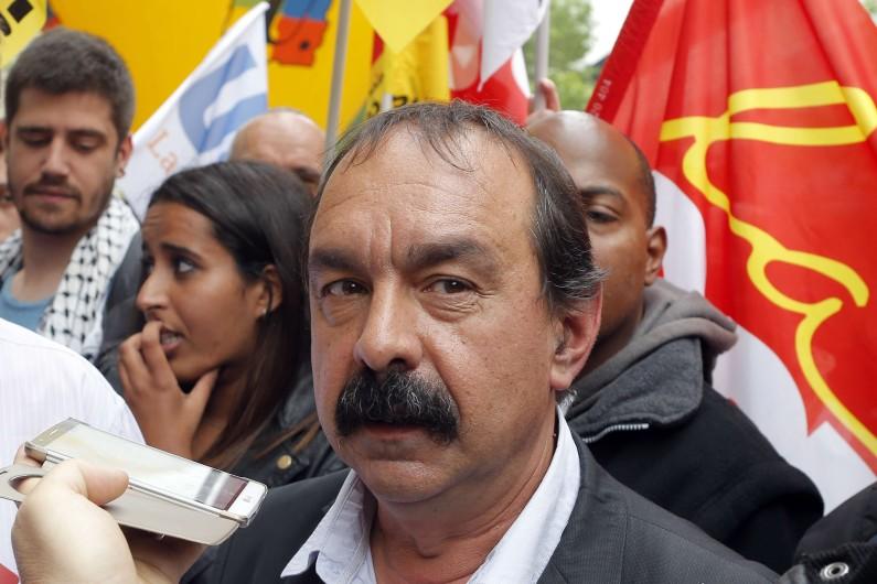 Philippe Martinez le 26 mai 2016 à Paris