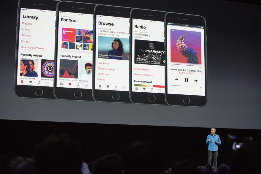 Apple est accusé de favoriser Apple Music au détriment de ses rivaux à travers le modèle économique de son App Store