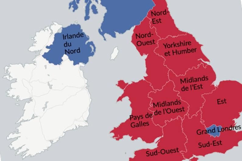 Brexit : la carte détaillée des résultats du référendum