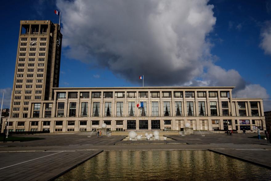 L'hôtel de ville du Havre (illustration)