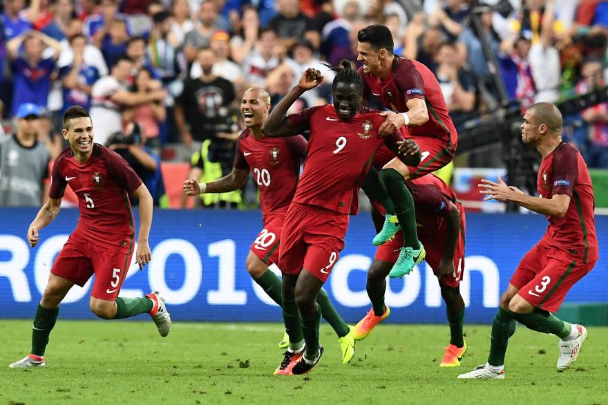 Le Portugal sacré champion d'Europe au Stade de France, le 10 juillet 2016
