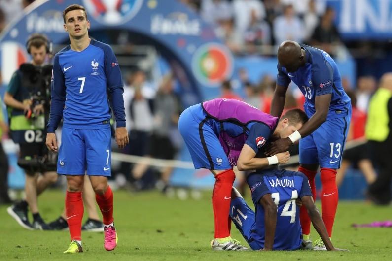 Les Bleus sont abattus après leur défaite 1-0 face au Portugal