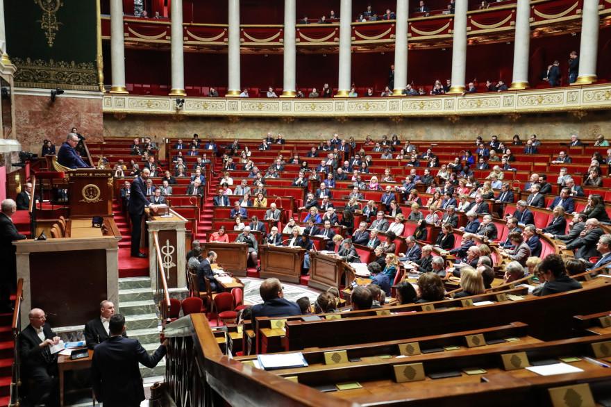L'Assemblée nationale en mars 2020