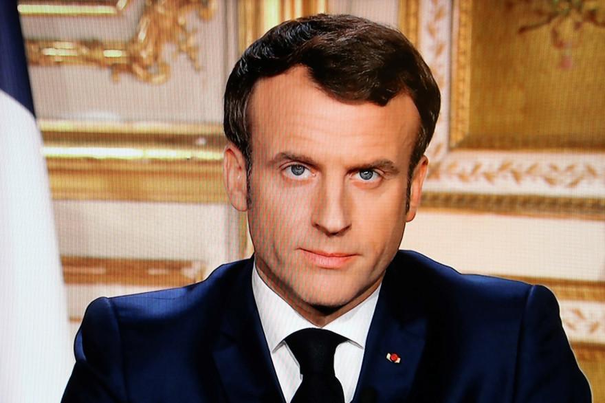 Emmanuel Macron, le 16 mars 2020