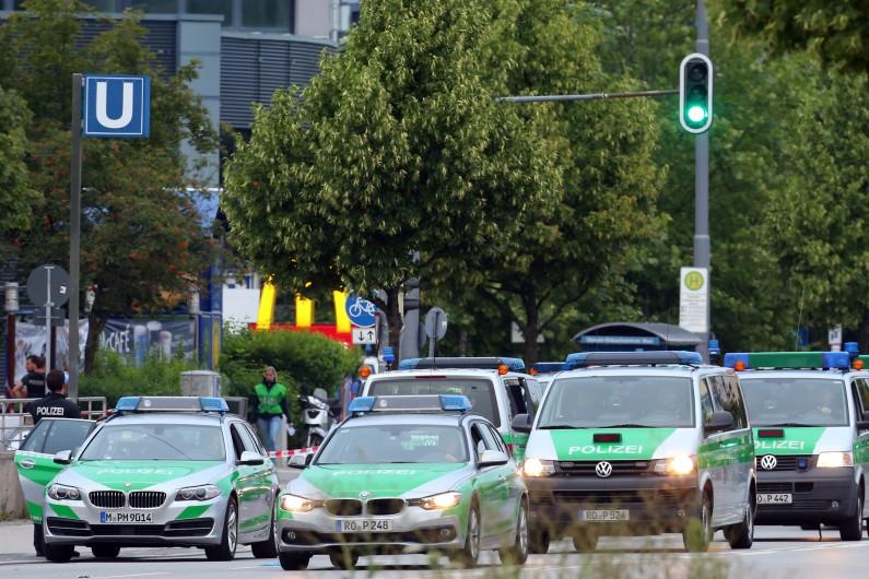 Des voitures de police en Allemagne (illustration).
