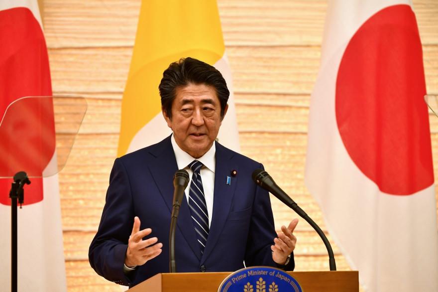 Shinzo Abe, le Premier ministre japonais (illustration)