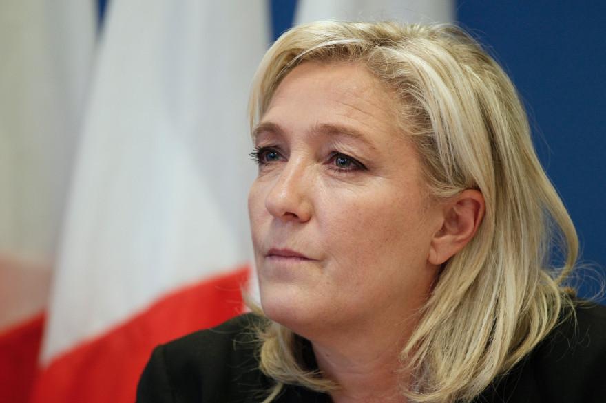 Marine Le Pen, présidente du Rassemblement national (RN).