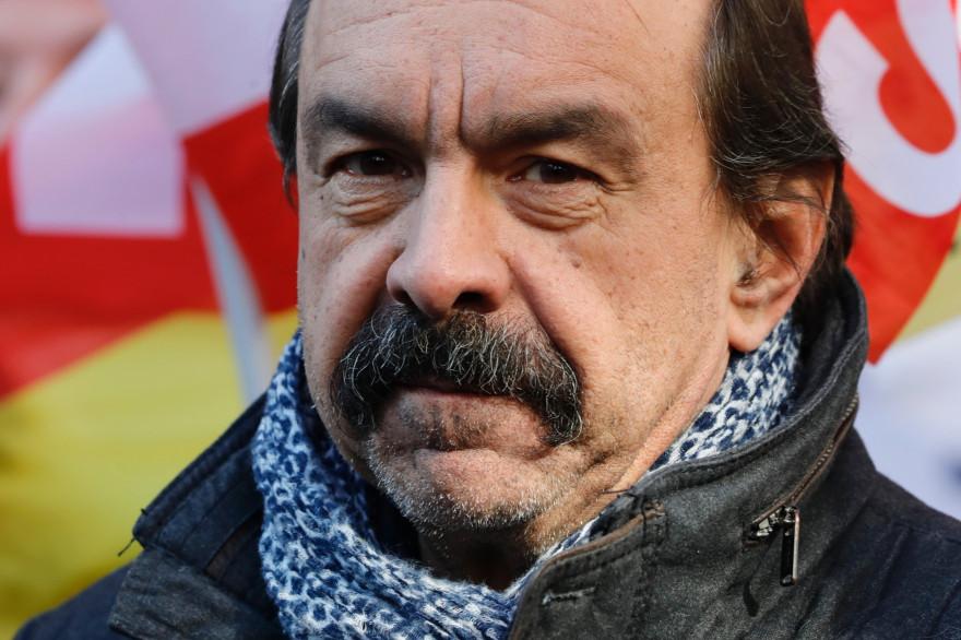 Le secrétaire général de la CGT Philippe Martinez le 6 février 2020