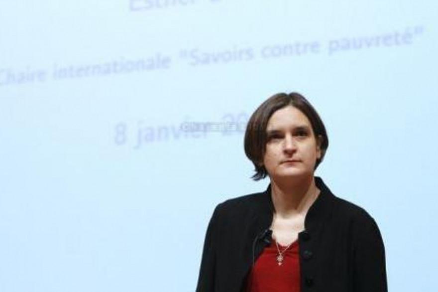 Esther Duflo a reçu le prix Nobel d'économie en 2019 pour ses travaux sur la pauvreté.