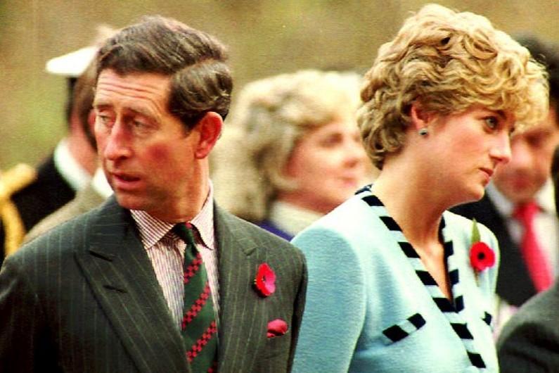 Le prince Charles et Lady Diana en 1992