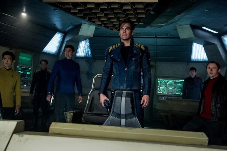 """Les héros de la saga """"Star Trek"""" de 2009"""